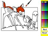Disegni da colorare a video col mouse