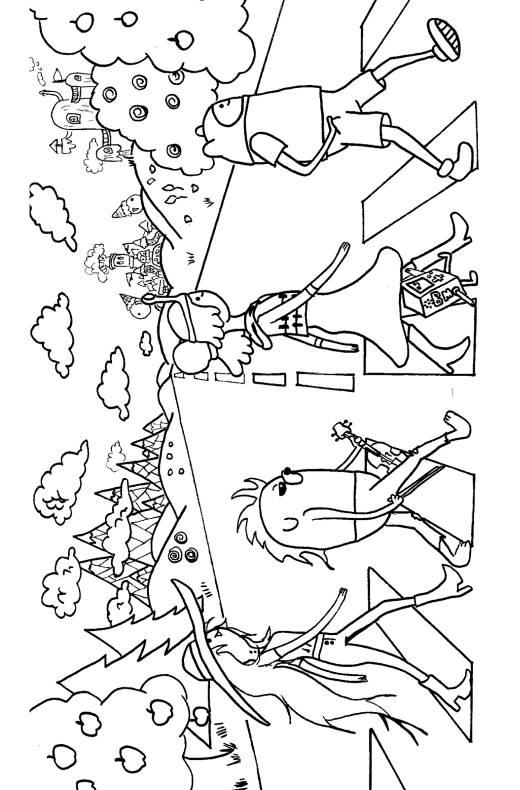 Disegni Da Colorare Di Adventure Time