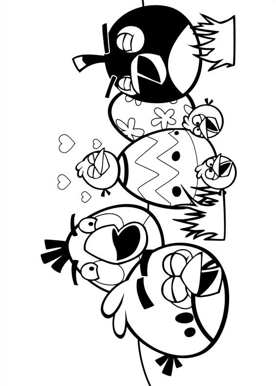 Angry Birds Go Coloring Pages Coloring Pages