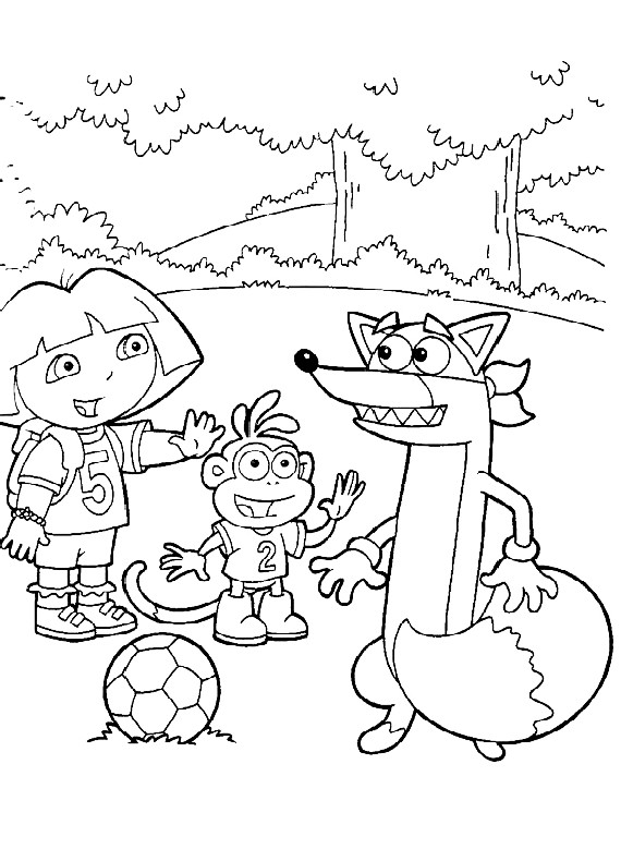 swiper the fox coloring pages - photo#29