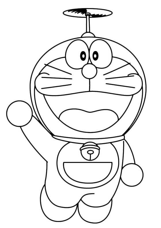 Doraemon da colorare 15 da stampare e colorare for Disegni da colorare doraemon
