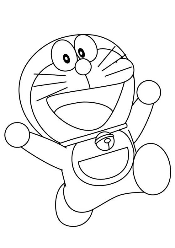 Disegni da colorare di doraemon for Disegni da colorare doraemon