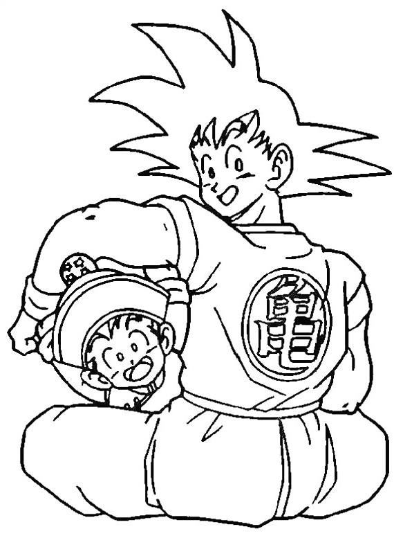Dragon Ball Z 61 Da Stampare E Colorare