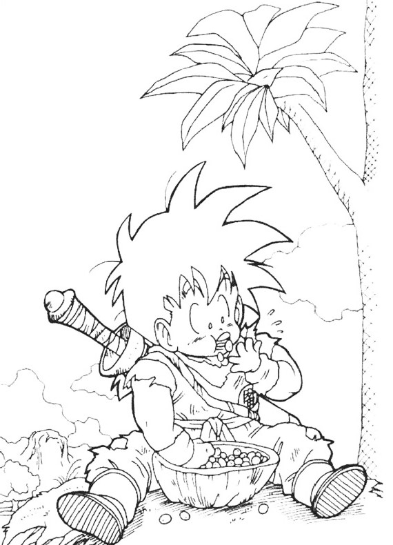 Disegni Da Colorare Di Dragon Ball Z