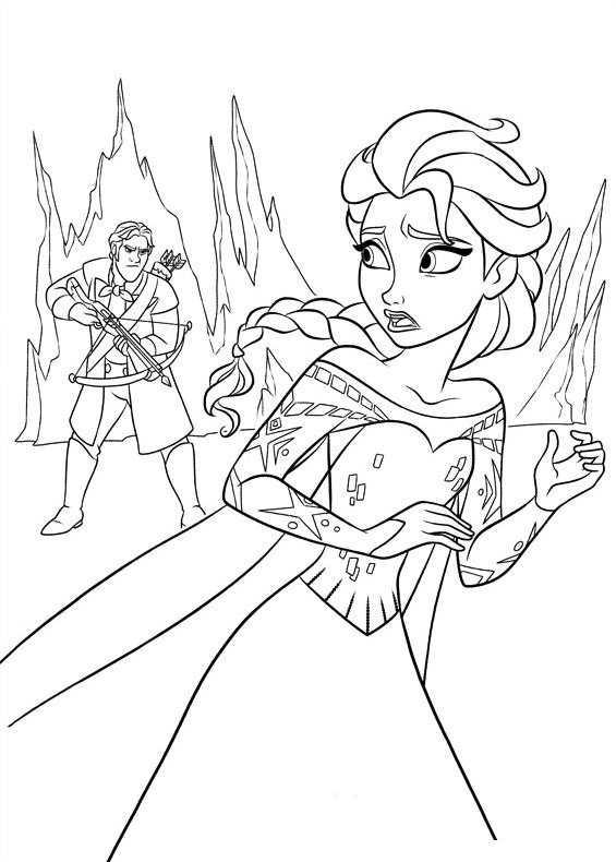 Frozen 2 Coloring Pictures : Frozen colouring pages