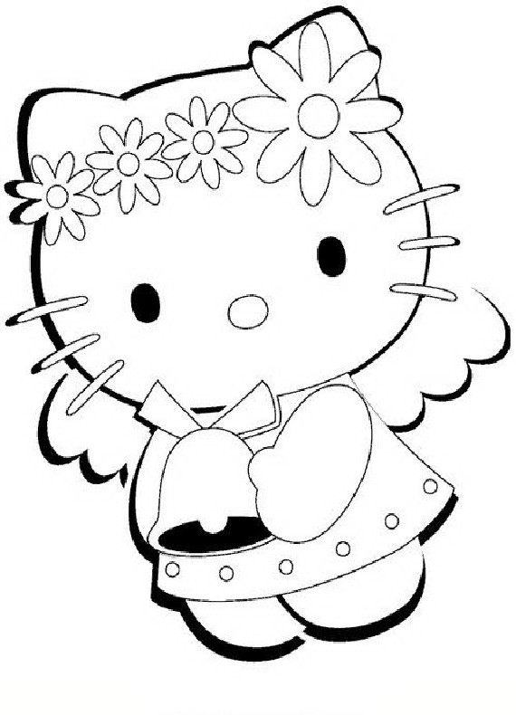 Hello Kitty Cheerleader Coloring Pages : Pin malvorlage basketball on pinterest