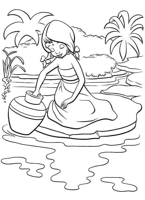 disegni da colorare di il libro della giungla