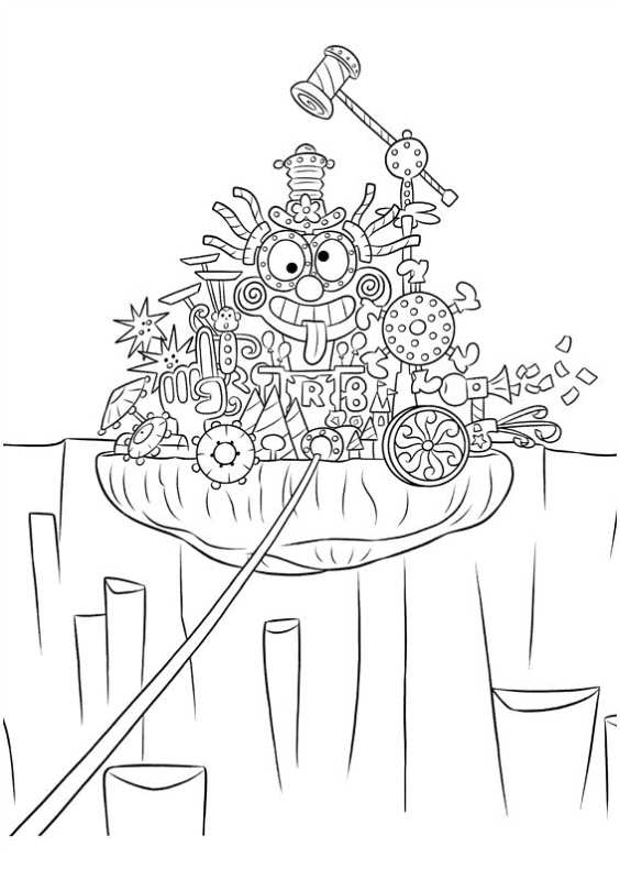 Inside Out Coloring Pages Pdf : Disegni da colorare di inside out