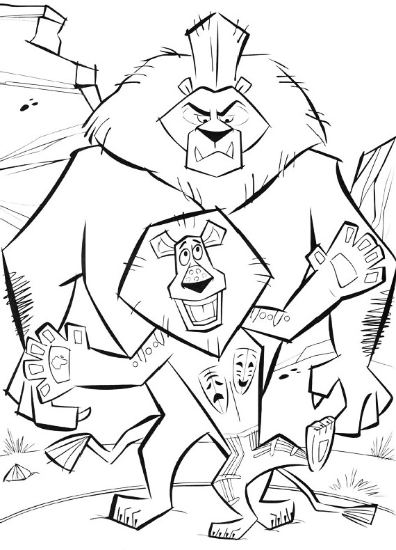 Holiday Coloring Pages Penguins Of Madagascar Coloring Pages