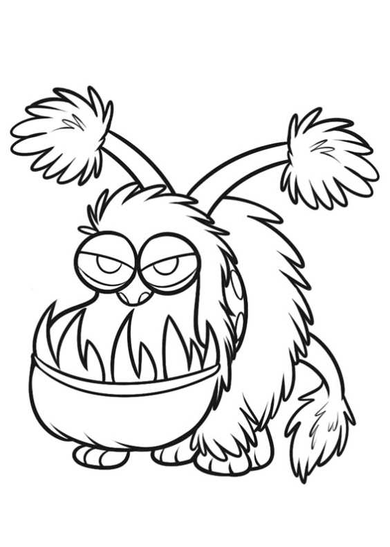 Disegni Da Colorare Minions On Line.Monster By Mail Coloring Page Auto Electrical Wiring Diagram