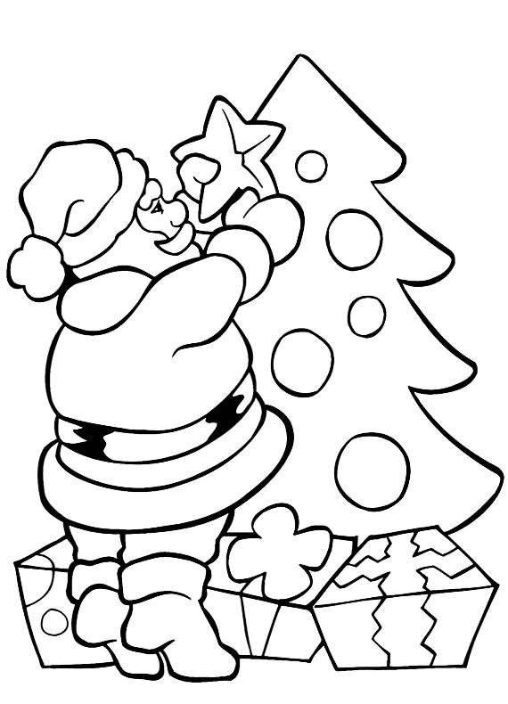 Babbo Natale Da Stampare E Colorare Gratis Disegni Di Natale 2019