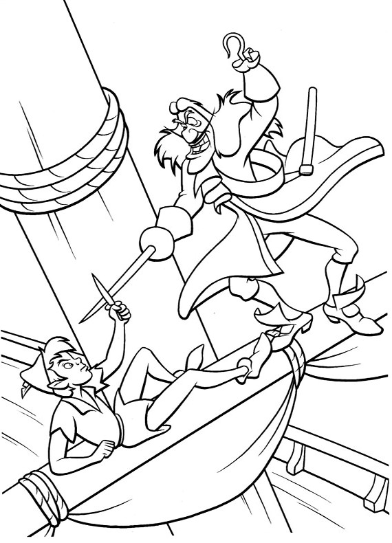 Disegni Da Colorare Di Peter Pan