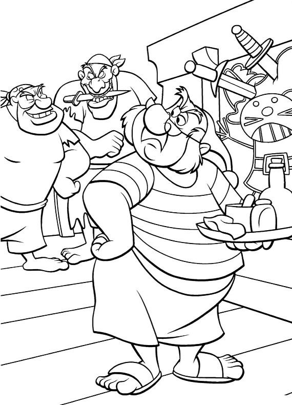 Peter pan spugna da stampare e colorare - Peter pan colorare pagina di colorazione ...