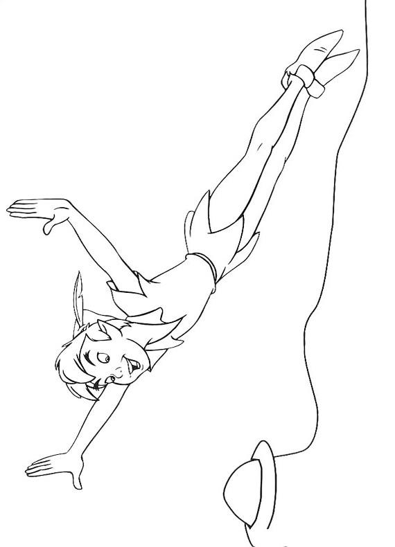 Disegni Di Peter Pan Da Colorare Foto 1740 Nanopress