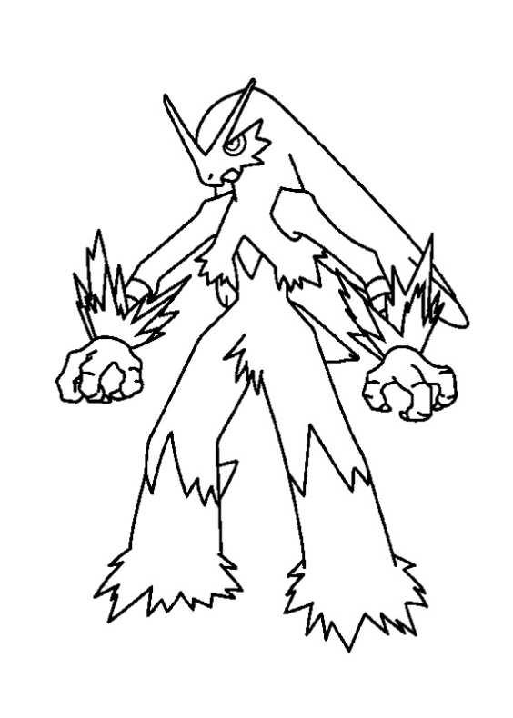 Pokemon Da Colorare 61 Da Stampare E Colorare