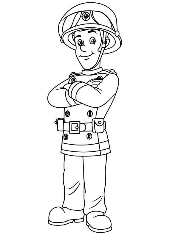 Disegni da colorare di sam il pompiere - Mike le pagine da colorare cavaliere ...