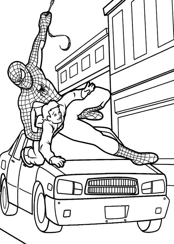 Spiderman Uomo Ragno 10 Da Stampare E Colorare