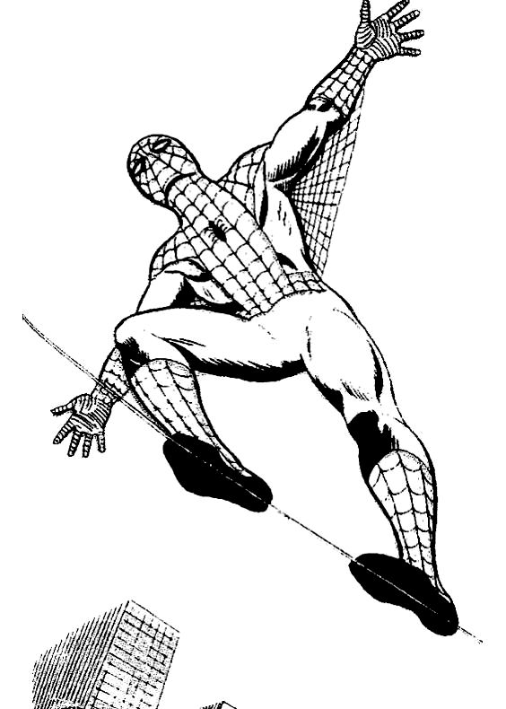 Disegni da colorare di spiderman uomo ragno for Disegni da colorare di spiderman