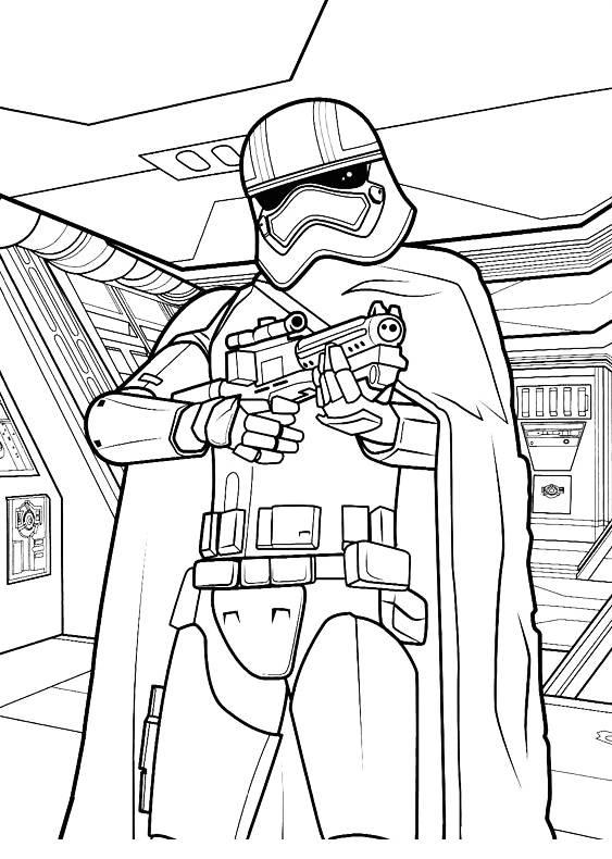 disegni da colorare star wars per bambini