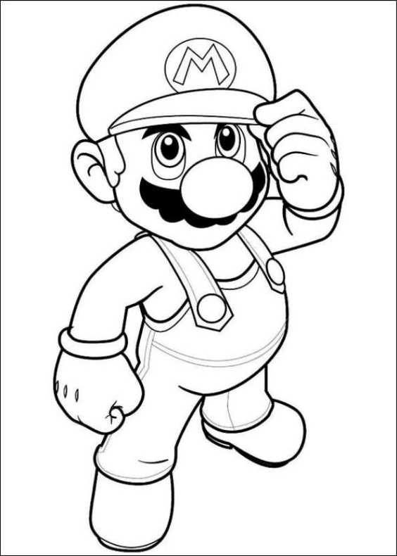 Super Mario Da Colorare 34 Da Stampare E Colorare