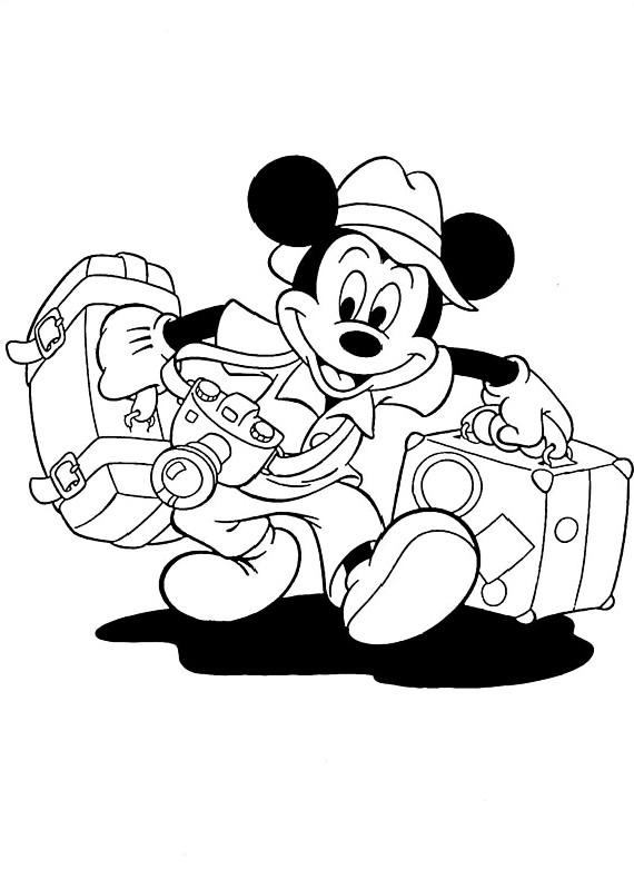 Disegni per bambini valigia