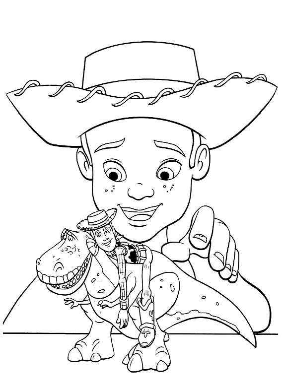 toy story coloring pages rexburg - photo#6