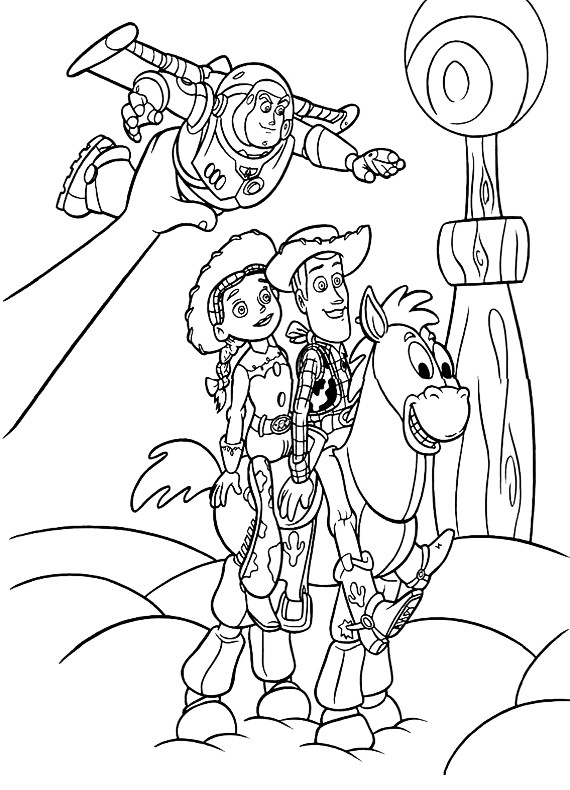 jessie the show coloring pages - photo#15