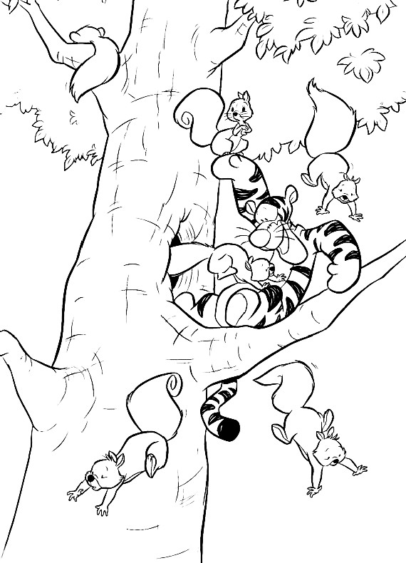 heffalump halloween coloring pages - photo#14