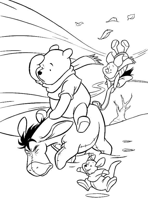 Disegni da colorare di winnie pooh - Dessiner le vent ...