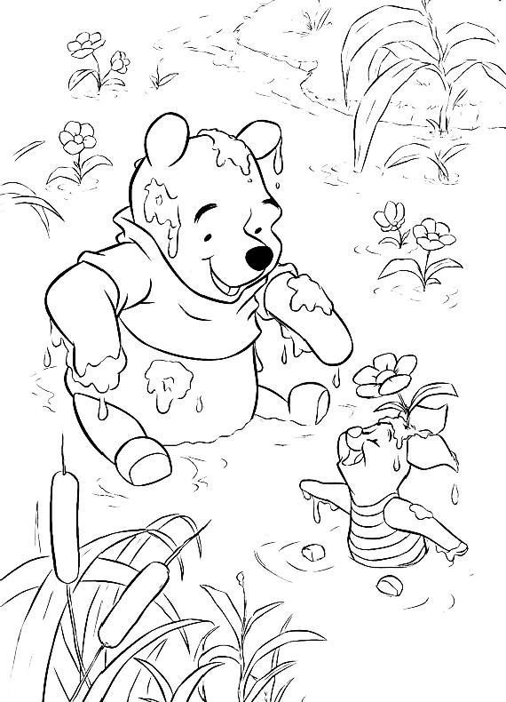 Winnie Pooh Winnie Pimpi Sporchi Da Stampare E Colorare