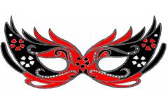 Inviti di compleanno per bambini for Maschera di flash da colorare