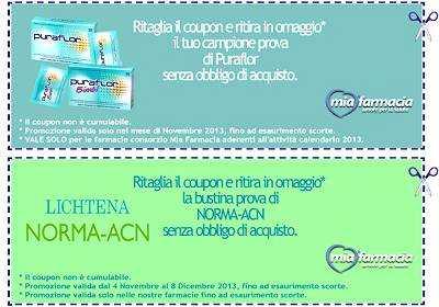 Campioni omaggio gratuiti concorsi a for Buoni omaggio