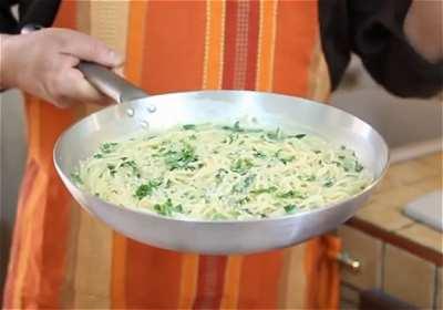 Videoricetta degli spaghetti alla rucola for Siti di ricette cucina