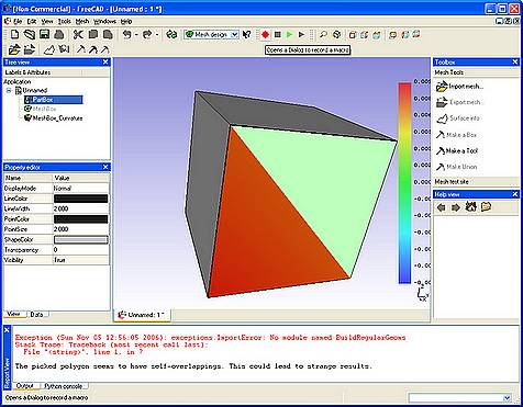 Cad 2d 3d open source gratuito freeware free cad for Programmi 3d gratuiti